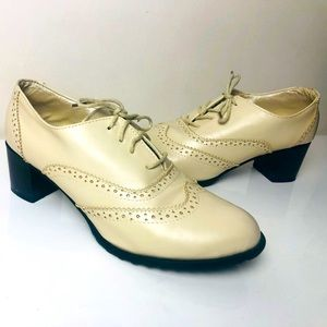 Vintage Style Vero cuoio leather lace up Shoes |39